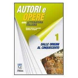 AUTORI E OPERE DELLA LETTER. 1+STRUM+ANT