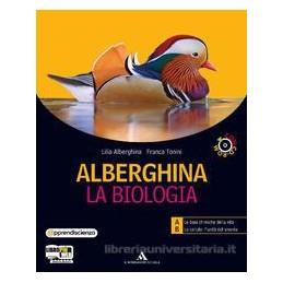 ALBERGHINA LA BIOLOGIA (AB+CD) +CD ROM
