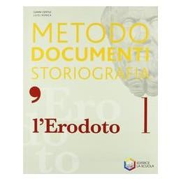L`ERODOTO  METODO DOCUMENTI STORIOGR. 1