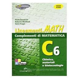 LINEAMENTI.MATH VERDE C6  CHIMICA MATER.