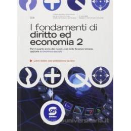 FONDAMENTI DI DIRITTO ED ECON.2 X 4 LSU
