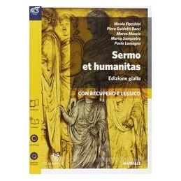 SERMO ET HUMANITAS GIALLA +PERC.1+ALL.