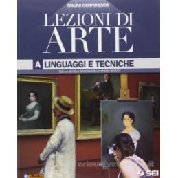 LEZIONI DI ARTE A  LINGUAGGI E TECNICHE