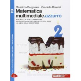 MATEMATICA MULTIMEDIALE AZZURRO   VOLUME 2 AZZURRO MULTIMEDIALE (LDM)  Vol. 2