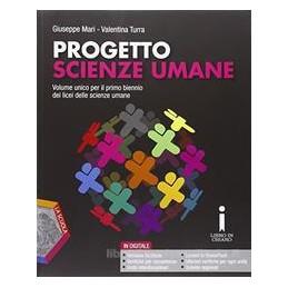 PROGETTO SCIENZE UMANE + DVD Vol. U