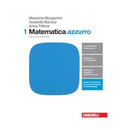 MATEMATICA.AZZURRO 2ED. - VOLUME 1 (LDM) SECONDA EDIZIONE Vol. 1