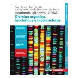 CARBONIO (IL), GLI ENZIMI, IL DNA - (LDM) CHIMICA ORGANICA, BIOCHIMICA E BIOTECNOLOGIE VOL. U