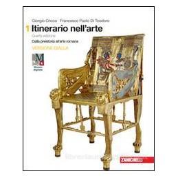 ITINERARIO NELL`ARTE. 4A EDIZIONE VERSIONE GIALLA - VOLUME 1 (LDM) DALLA PREISTORIA ALL`ARTE ROMANA