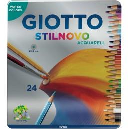 (1) Pastello Stilnovo Acquarell Giotto  3,3 mm  da 3 anni in poi  256300 (conf.24)