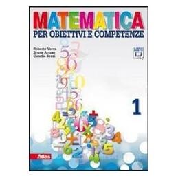 MATEMATICA PER OBIETTIVI  ARITM.1+GEOM.1