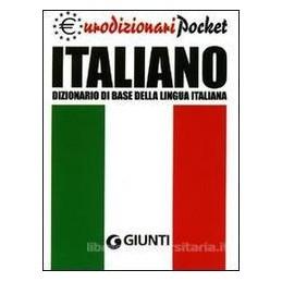 DIZIONARIO ITALIAN TASC. (EURODIZIONARI)