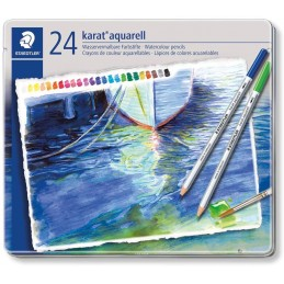 Pastelli acquarellabili Staedtler Karat a 24