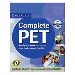 COMPLETE PET +CD ROM +KEY