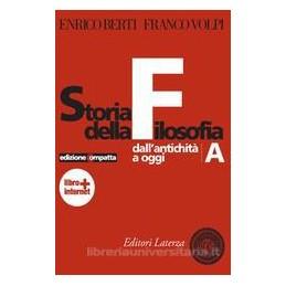 STORIA DELLA FILOSOFIA (A+B) ED.COMPATTA