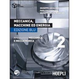 MECCANICA MACCHINE ED ENERGIA 2 ED.BLU