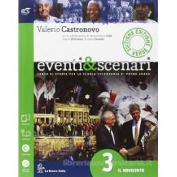 EVENTI & SCENARI EDIZ.VERDE 3 +PAGINE+OB