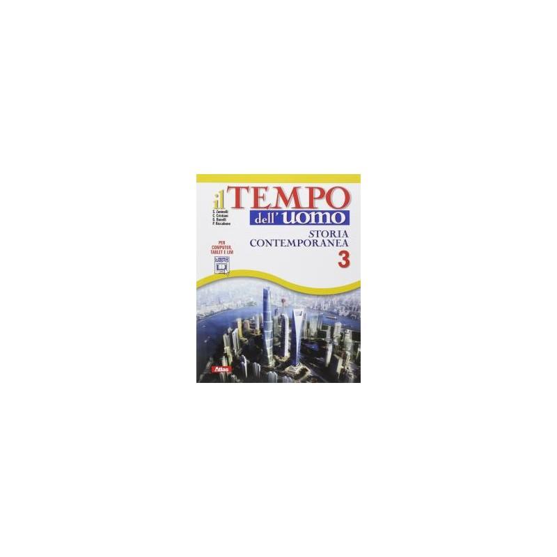 TEMPO DELL`UOMO 3 +LABORATORIO STORIA 3
