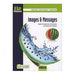 IMAGES & MESSAGES +CD  ENGL.X GRAPHIC