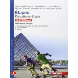 ETAPES   VOLUME DEUXIEME ETAPE MULTIMEDIALE (LDM) METHODE DE FRANCAIS Vol. 2