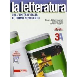 LETTERATURA (LA) 3A + 3B  Vol. U
