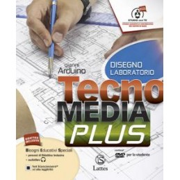 TECNOMEDIA PLUS DISEGNO LABORATORIO CON CD ROM Vol. U