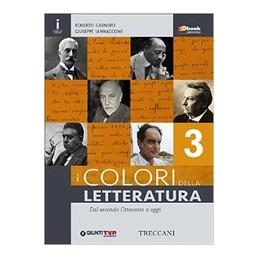 COLORI DELLA LETTERATURA 3  Vol. 3