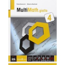MULTIMATH GIALLO VOLUME 4 + EBOOK SECONDO BIENNIO E QUINTO ANNO VOL. 2