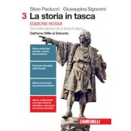 STORIA IN TASCA (LA) - EDIZIONE ROSSA. VOLUME 3 (LDM) SECONDA EDIZIONE DI LA STORIA IN TASCA. DALL`A