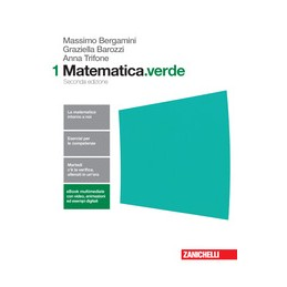 MATEMATICA.VERDE 2ED. - VOLUME 1 (LDM)  Vol. 1