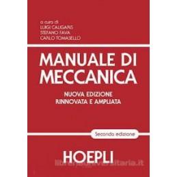 MANUALE DI MECCANICA  Vol. U