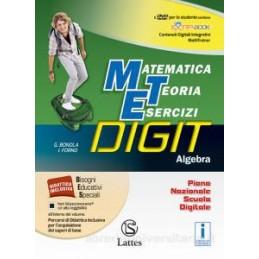MATEMATICA TEORIA ESERCIZI DIGIT ALGEBRA CON DVD+MI PREP.PER INTERROG.+QUAD.COMPETENZE 3+QUAD.OPER.3