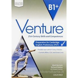 VENTURE B1+ EC+SB&WB+CD+OBK+ONLINE PET Vol. U