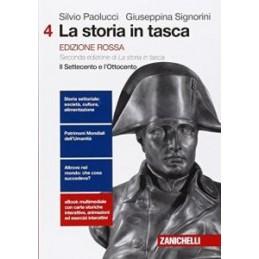 STORIA IN TASCA (LA) - EDIZIONE ROSSA  VOLUME 4 (LDM) SECONDA EDIZIONE DI LA STORIA IN TASCA IL SETT