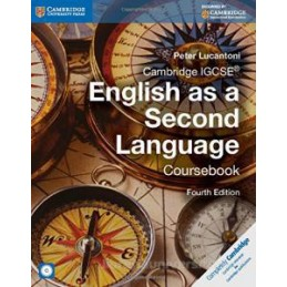 CAMBRIDGE IGCSE ENGLISH AS A SECOND LANGUAGE 4TH EDITION COURSEBOOK WITH AUDIO CD Vol. U