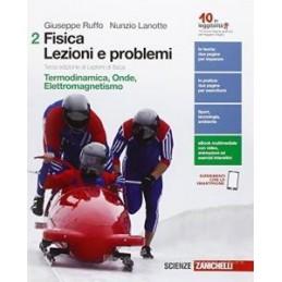 FISICA: LEZIONI E PROBLEMI - VOLUME 2 (LDM) 3ED. DI LEZIONI DI FISICA - TERMODINAMICA, ONDE, ELETTRO