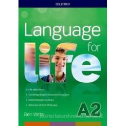LANGUAGE FOR LIFE A2 SUPER PREMIUM SB&WB+CD+OBK+STUDYAPP+16 EREAD+1 KEY ONLINE TEST Vol. U