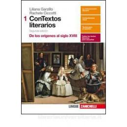 CONTEXTOS LITERARIOS 2ED  - VOLUME 1 (LDM) DE LOS ORIGENES AL SIGLO XVIII Vol. 1