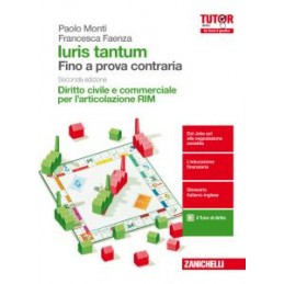 IURIS TANTUM RIM 2ED  - DIRITTO CIVILE E COMMERCIALE  (LDM)  Vol. 1