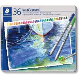 Pastelli acquarellabili Staedtler Karat a 36