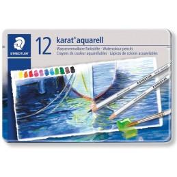 Pastelli acquarellabili Staedtler Karat a 12