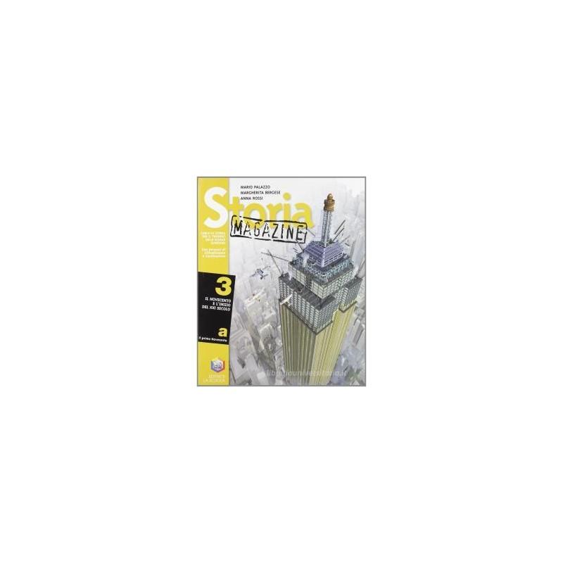 STORIA MAGAZINE 3 (A+B)+VERSO L`ESAME+CD
