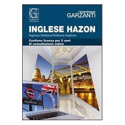 GRANDE DIZIONARIO HAZON DI INGLESE (IL)