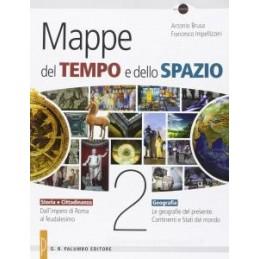 MAPPE DEL TEMPO E DELLO SPAZIO 2 +DVD