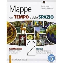 MAPPE DEL TEMPO E DELLO SPAZIO 2 +EBOOK