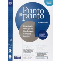 PUNTO PER PUNTO - LIBRO MISTO CON OPENBOOK MORFOLOGIA + QUADERNO + LESSICO + MAPPE + EXTRAKIT + OPEN