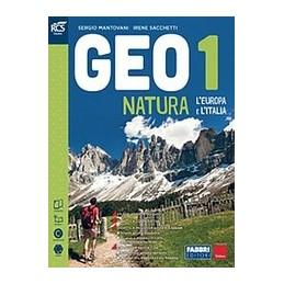 GEONATURA CLASSE 1 - LIBRO MISTO CON OPENBOOK VOLUME 1 + ATLANTE OSSERVO E IMPARO 1 + REGIONI ITALIA