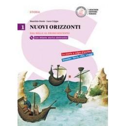 NUOVI ORIZZONTI 1 1. DAL MILLE AL PRIMO SEICENTO + DVD-ROM + LA STORIA A COLPO D`OCCHIO Vol. 1