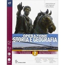 OPERAZIONE STORIA E GEOGRAFIA CLASSE 2 - LIBRO MISTO CON OPENBOOK VOLUME 2 + EXTRAKIT + OPENBOOK Vol
