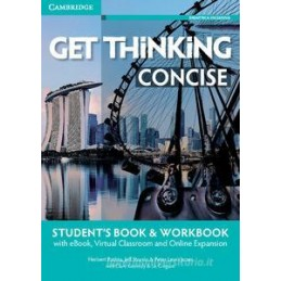 GET THINKING CONCISE SB+WB+EBOOK INTERATTIVO CLASSE VIRTUALE MAT.DIGIT. A2-B1 Vol. U