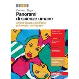 PANORAMI DI SCIENZE UMANE (LDM) ANTROPOLOGIA, SOCIOLOGIA, PSICOLOGIA, PEDAGOGIA VOL. U